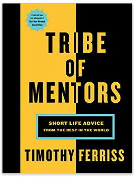 Tribe Of Mentors Quotes Ben Rosenfeld